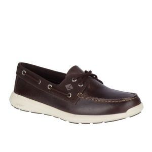 SPERRY Sojourn 2-Eye Brown Leather Men Shoes
